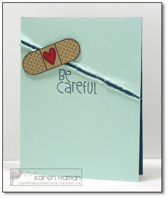 Be Careful | by karen @ carefree creations