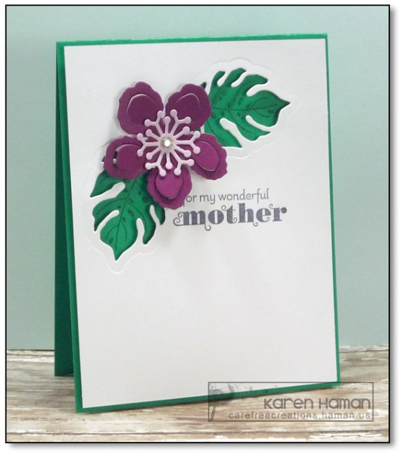 Tropical Mother's Day | by karen @ carefree creations