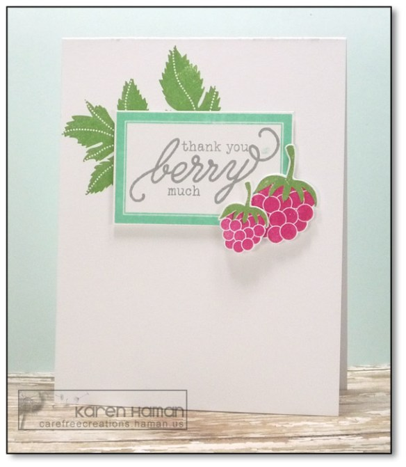 Berry Much | by karen @ carefree creations