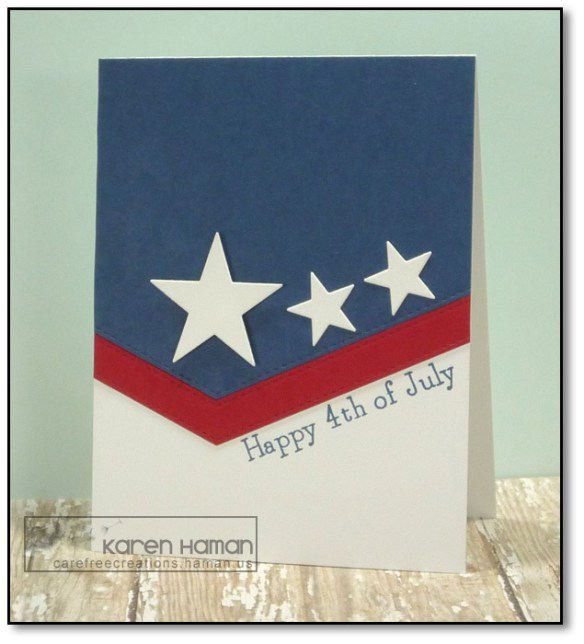 Flag Inspired Fourth | by karen @ carefree creations