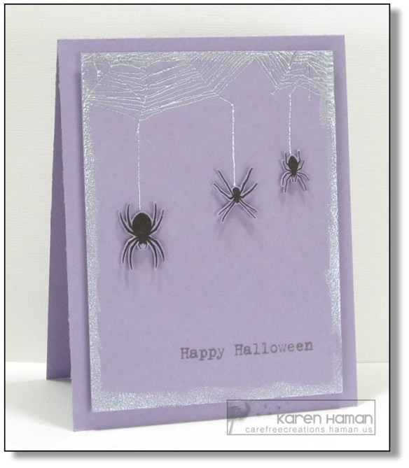 Trio of Spiders | by karen @ carefree creations