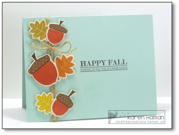 Happy Fall | by karen @ carefree creations