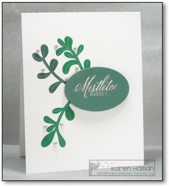 Mistletoe Kisses | by karen @ carefree creations