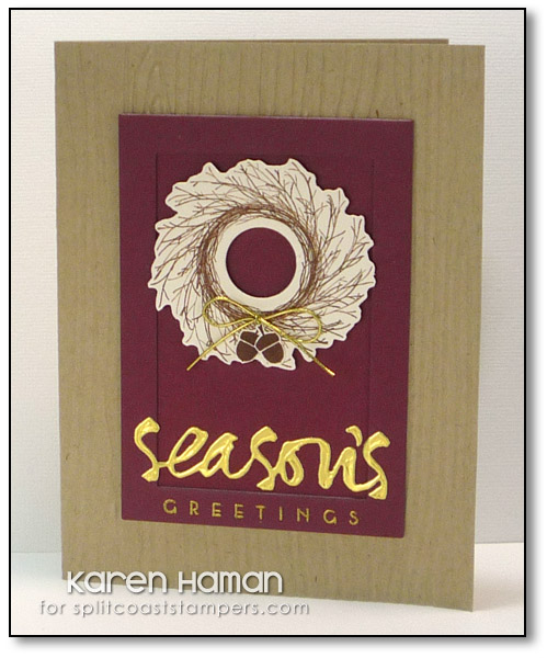 Seasonal Wreath | by karen @ carefree creations