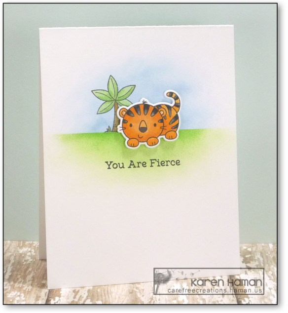 You are Fierce | by karen @ carefree creations