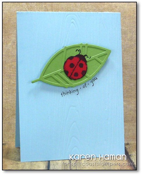 Ladybug Thoughts | by karen @ carefree creations