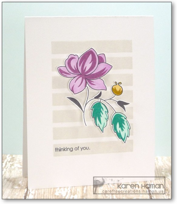 Thinking of You | by karen @ carefree creations