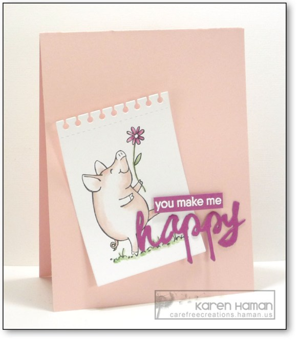You Make Me Happy   by karen @ carefree creations