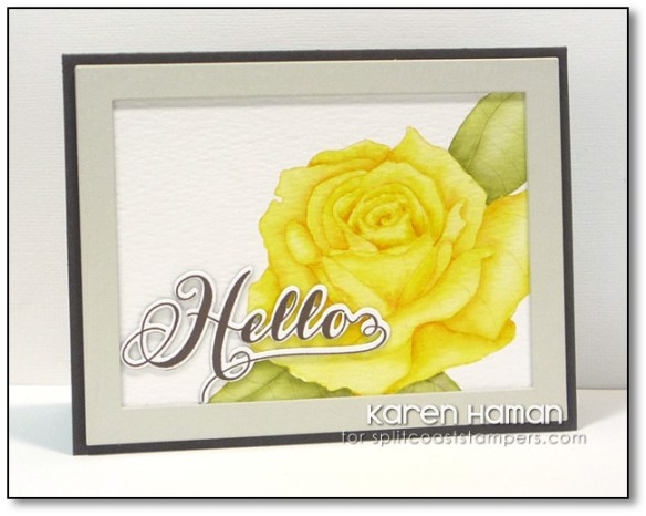 Yellow Rose | by karen h @ carefree creations