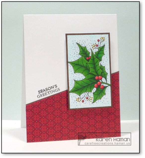 Season's Greetings | by karen h @ carefree creations