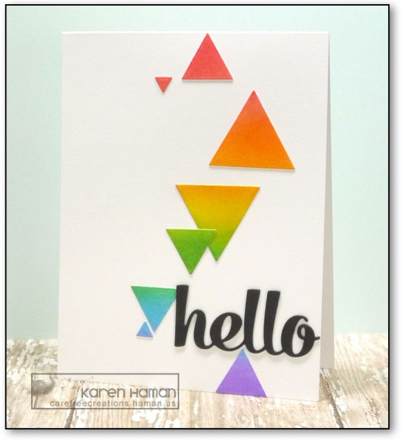Hello   by karen h @ carefree creations