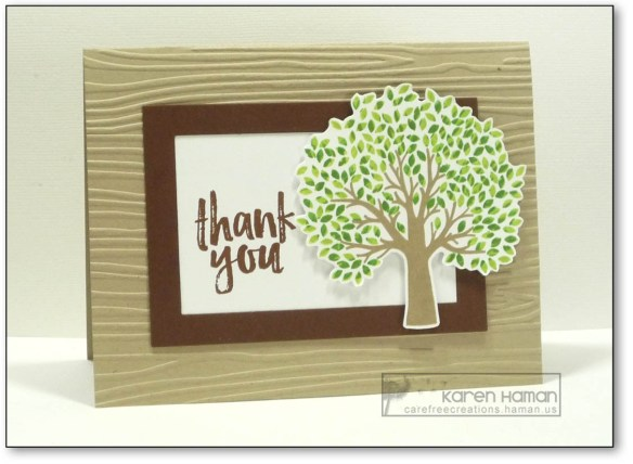Thank You Tree | by karen h @ carefree creations