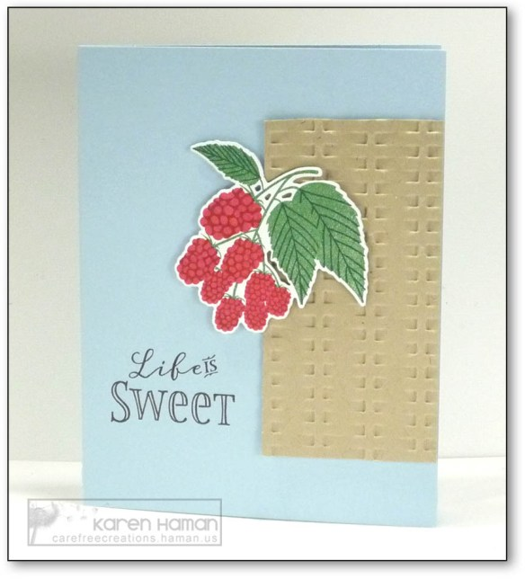 Life is Sweet | by karen h @ carefree creations