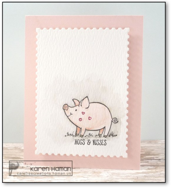 Hogs & Kisses | by karen h @ carefree creations