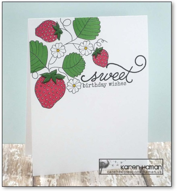 Sweet Strawberries | by karen h @ carefree creations