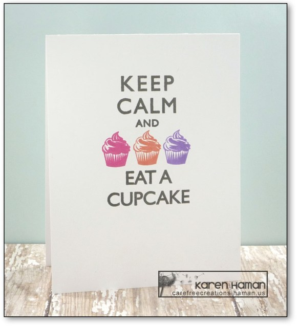 Eat a Cupcake | by karen h @ carefree creations