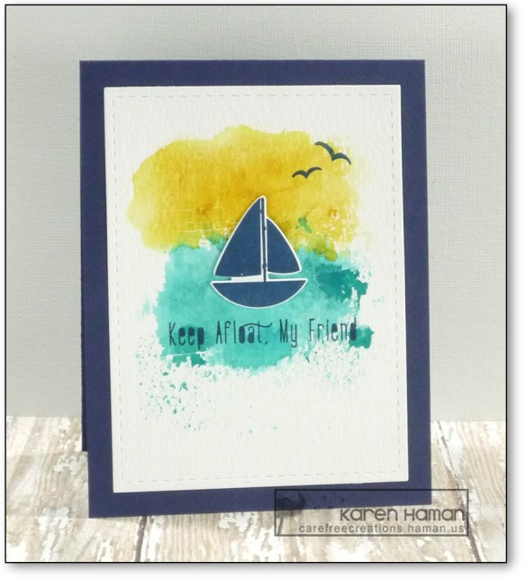 Keep Afloat | by karen h @ carefree creations