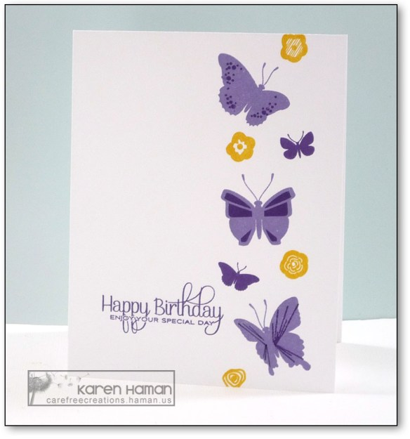 Birthday Butterflies | by karen h @ carefree creations