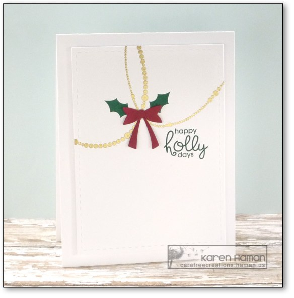 Holly Decorations | by karen h @ carefree creations