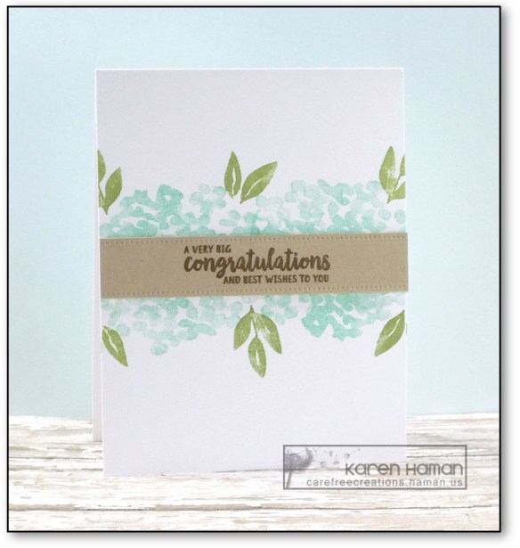 Congrats | by karen h @ carefree creations