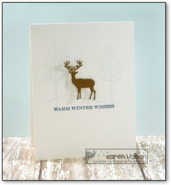 Winter Deer | by kth @ carefree creations
