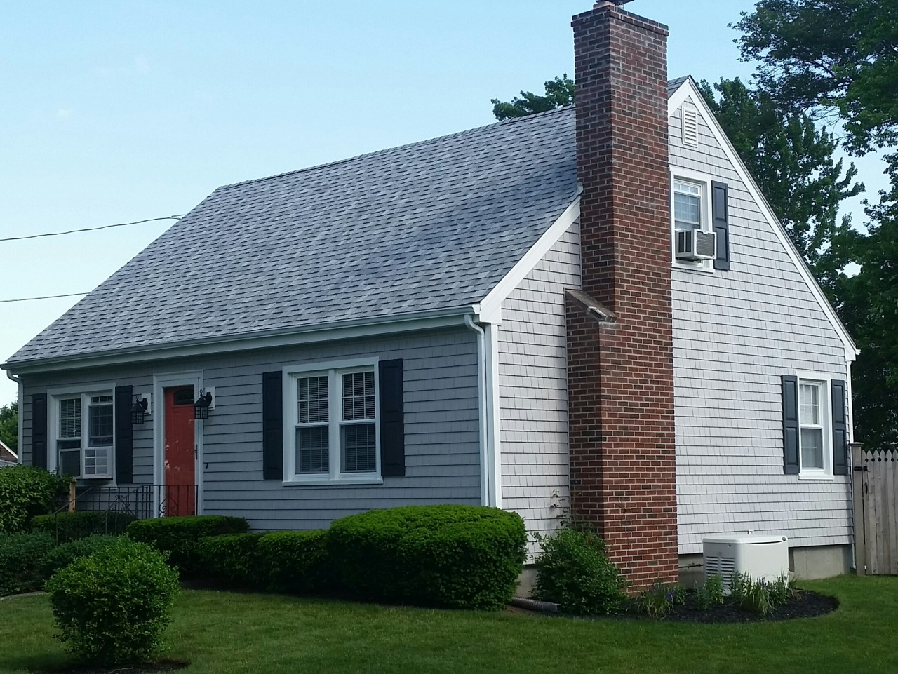 Cape Cod Style Home Gets New Siding in Somerset, MA ... on Siding Ideas  id=19763