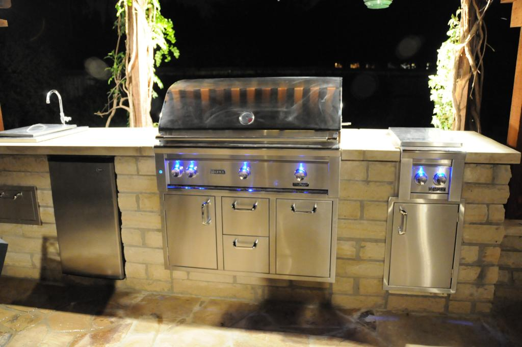 Lynx outdoor kitchens and bbq grills at Carefree Outdoor Living
