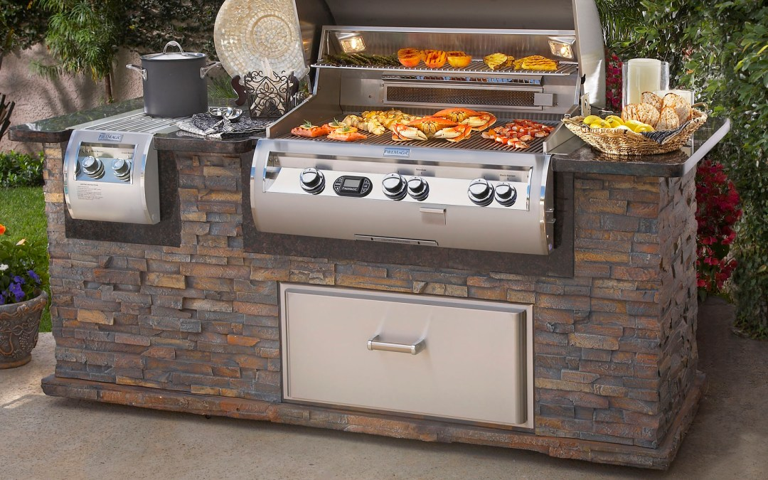 Firemagic outdoor kitchens and bbq grills at Carefree Outdoor Living
