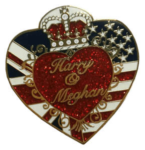 royal wedding pin harry & meghan