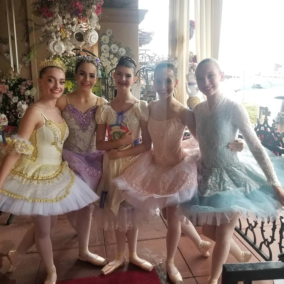 Nutcracker tea party at the English Rose Tea Room