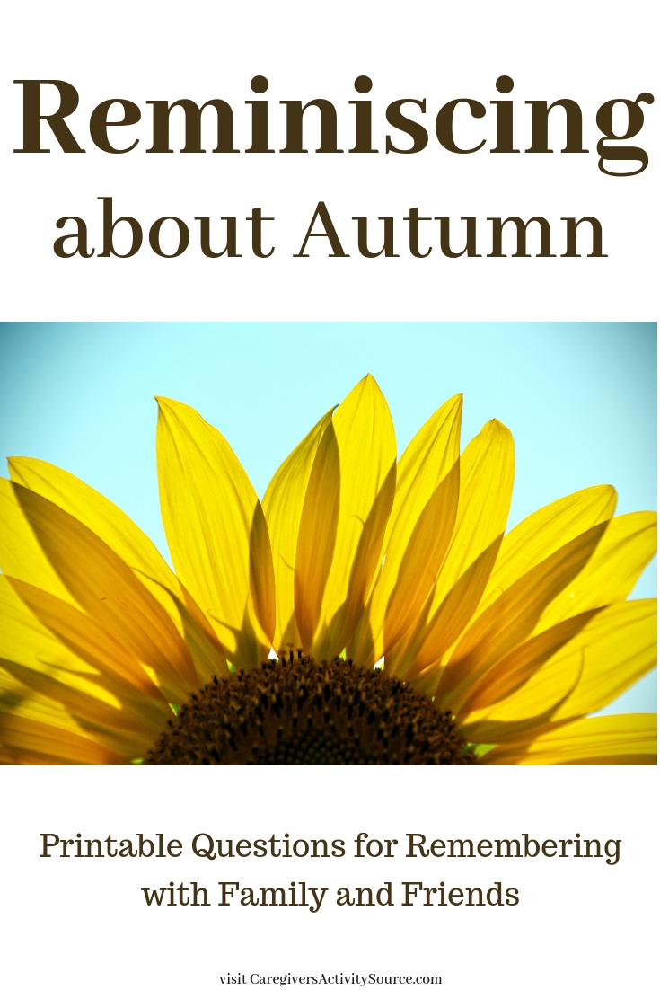 photograph relating to Autumn Trivia for Seniors Printable identify Autumn Reminiscing