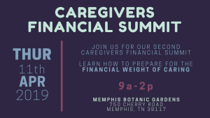 Caregiving Financial Summit @ Memphis Botanic Garden | Memphis | Tennessee | United States