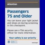 TSA rules for elderly travelers