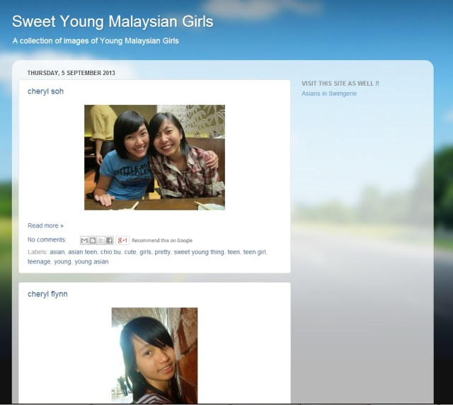 As Far As I Know The Blog Contained Many Pictures Of Girls Mostly In Petaling Jaya And Kuala Lumpur And Links To Other Blogs Like Asians In Swimgerie