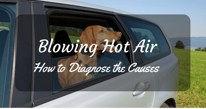 blowing hot air