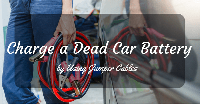 Charge a Dead Car Battery Using Jumper Cables