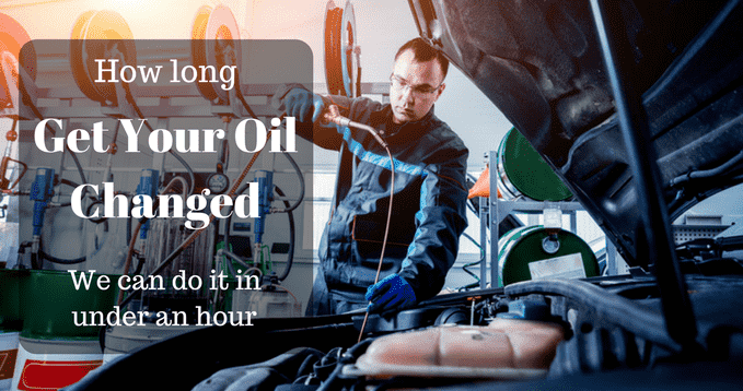 How Long Does it Take to Get Your Oil Changed | Full step ...