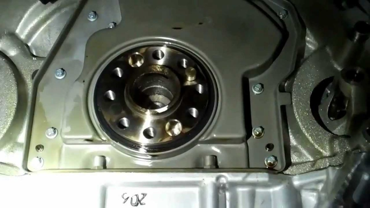 How to Replace a Crankshaft Rear Main Seal Without the