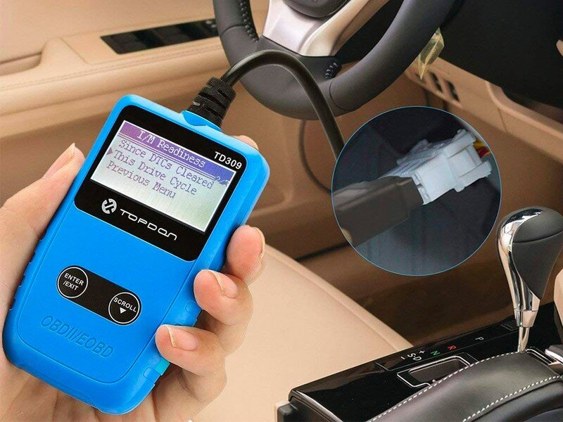 care-my-cars-code reader's connector