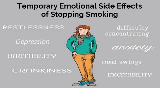 effects of stopping smoking or nicotine