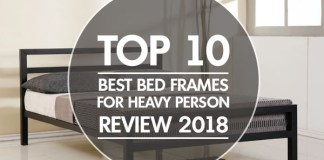 top 10 Best Bed Frames For Heavy Person reviews 2018