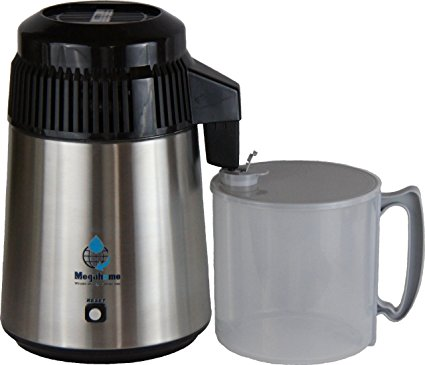 Nuriteam Countertop Water Distiller Stainless Steel Plastic Collection