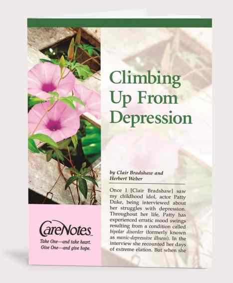 Climbing Up From Depression