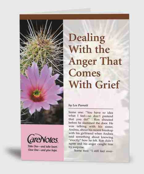 Dealing with the Anger That Comes With Grief