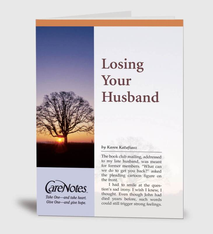Losing Your Husband