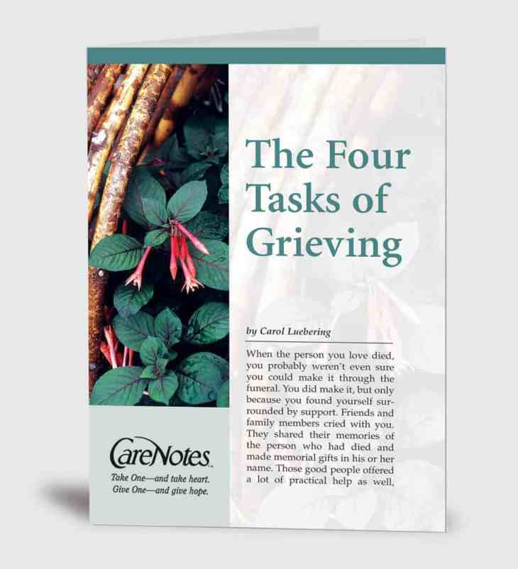 The Four Tasks of Grieving