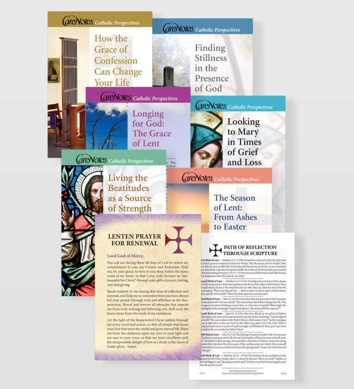 Lenten Prayer and Reflections Cards