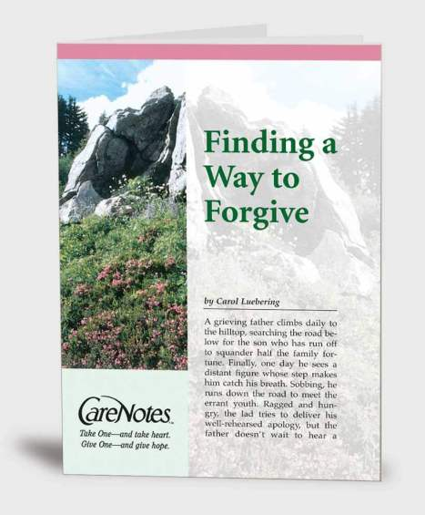 Finding a Way to Forgive
