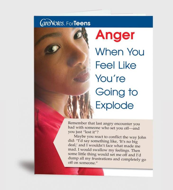 Anger: When You Feel Like You're Going to Explode