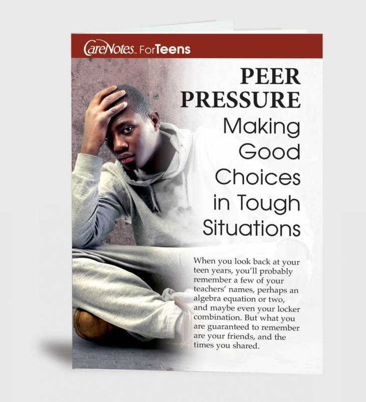 Peer Pressure: Making Good Choices in Tough Situations